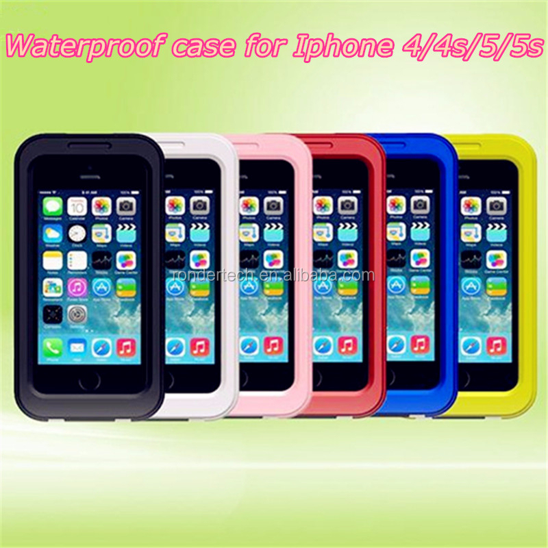 Newest style for iphone 5 5s waterproof case, waterproof case for iphone 5 5s