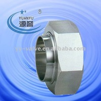 Sanitary food grade hex union nut