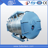 WNS Gas and oil Fired Steam Boiler