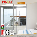 Latest chinese price of aluminium profile balcony sliding glass door for house images