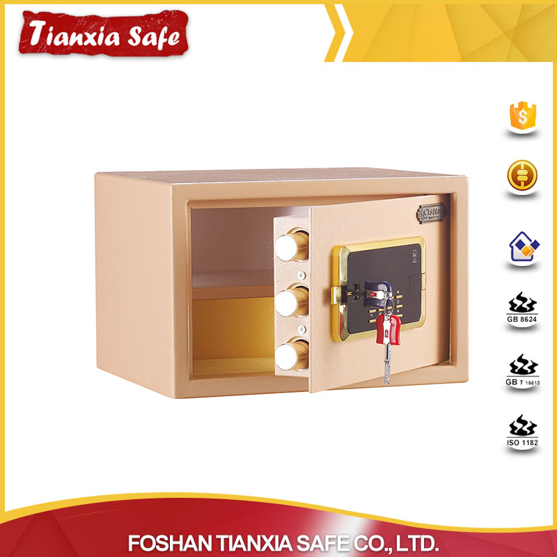 China factory hotel safes portable safe box for business
