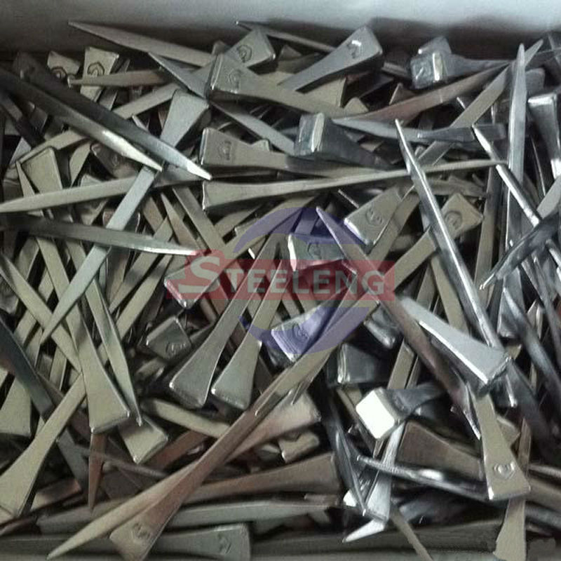 Factory Wholesale Steel Horseshoe Nails, Die Forged Nails for horses