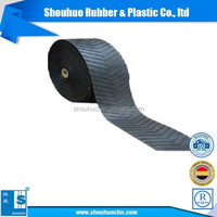 China supplier Industrial Polyester Canvas Rubber Conveyor Belt