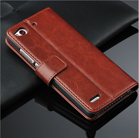 pu flip leather case cover for nubia Z7 Mini flip wallet case for nubia Z7 Mini with Card slot stand