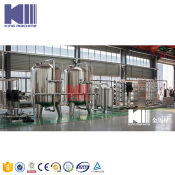 Beverage production cost of reverse osmosis plant for water treatment