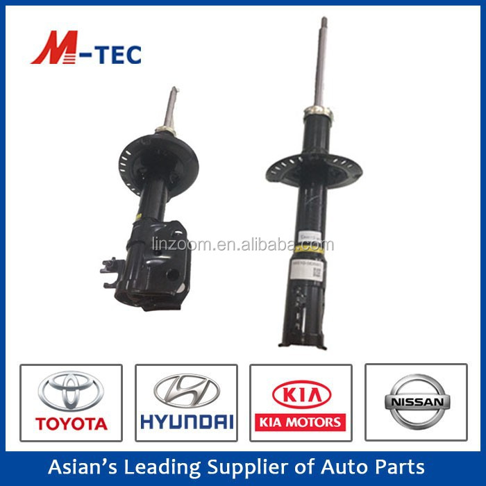 New auto spare parts shock absorber 48510-0D591 used for toyota yaris