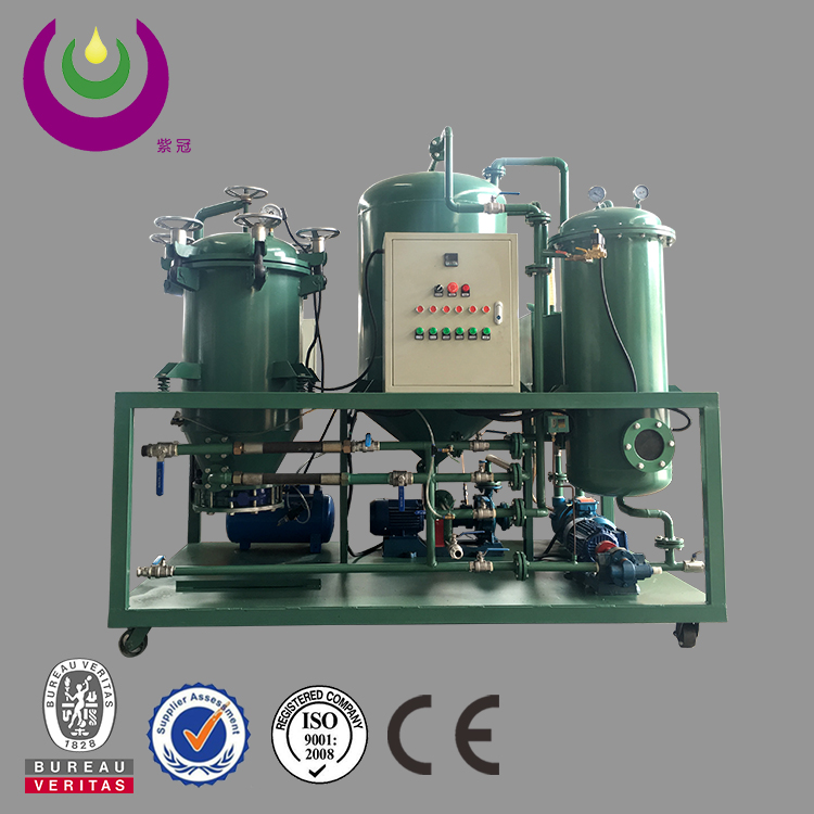 Mobile type Transformer oil filtration cooking oil filter Machine