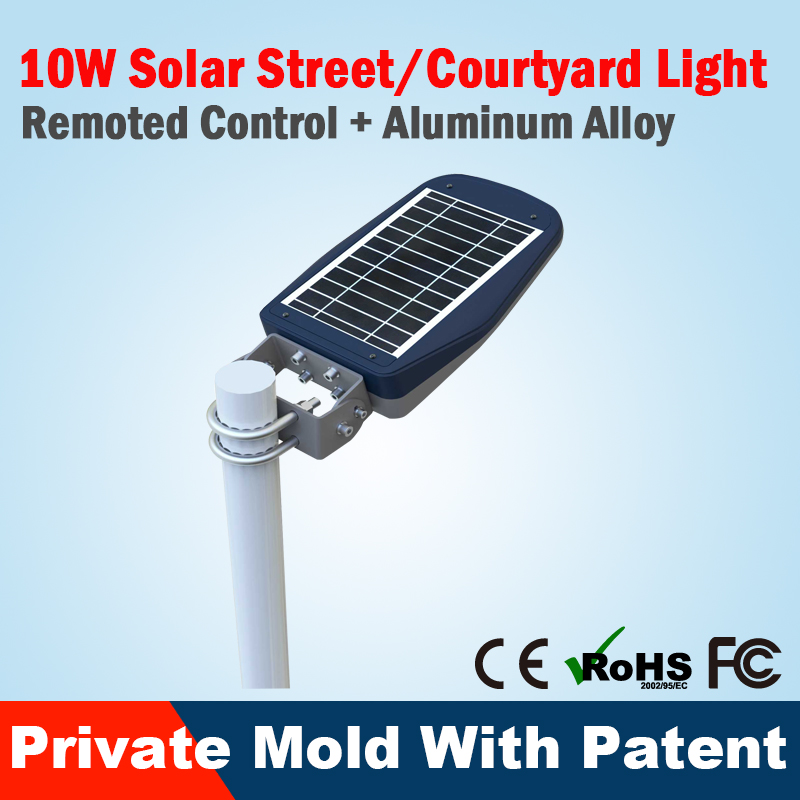 Good Quality portable solar security light with CE certificate