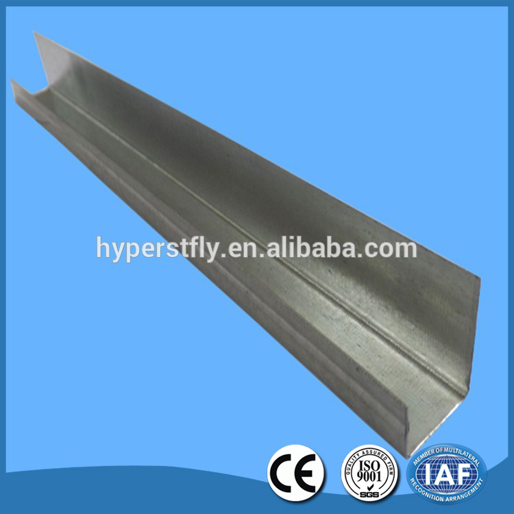 Drywall studs and tracks / Hot dipped zinc galvanized light steel joist
