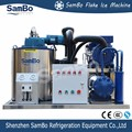 SamBo SUS316 Material CE 3 Tons Per Day Sea Water Flake Ice Machine For Marine Fisherman