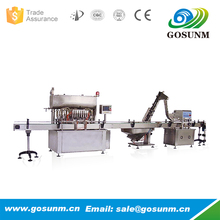 Automatic tomato paste filling and sealing capping packing machine production line