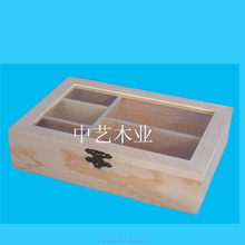 China supplier Trade assurance China manufacture wooden box with transparent lid small wooden box with sliding lid