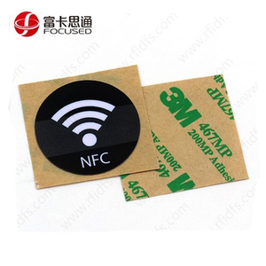 Cheap NTAG215 Micro Printable Waterproof RFID Rewritable NFC Label Sticker/Tag