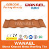 Wanael noisy resistance stone coated metal roof shingles/red asphalt roof shingles
