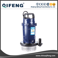 220v QDX 1 hp water submersible pump with float switch
