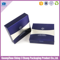 Customized printed cosmetics import/makeup kit set box cosmetics for bamboo cosmetic packaging