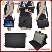 Universal 9.7 Inch Tablet PC Leather Carrying Case With Shoulder Strap
