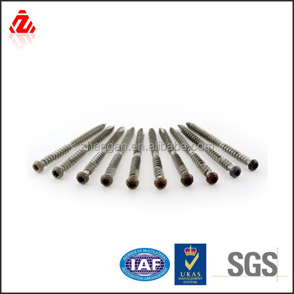 Steel composite decking screw