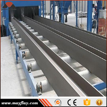 Mayflay Steel Profile / Plate / Structure Shot Blasting Machine