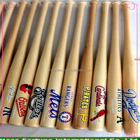Different sizes mini wood baseball bat