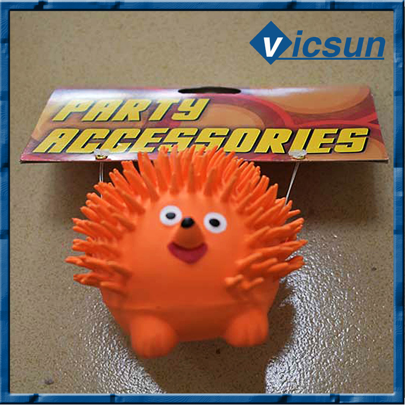 floating animal bath hedgehog latex toy pinch voice toy for baby kids