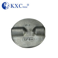 ISO 5752 DN80 API 609 valve body plate iron casting disc