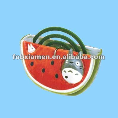 ceramic novelty watermelon mosquito wire coil holder