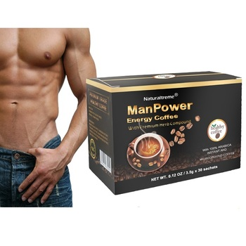 Maca Herbs Suppliers Herbal Male Coffee with Ganoderma Powder