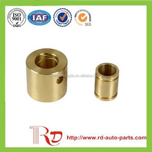 Custom brass spacer metal bushing,brass screw/nut/fastener/pcb standoff/pc bolt /round clear hole spacer