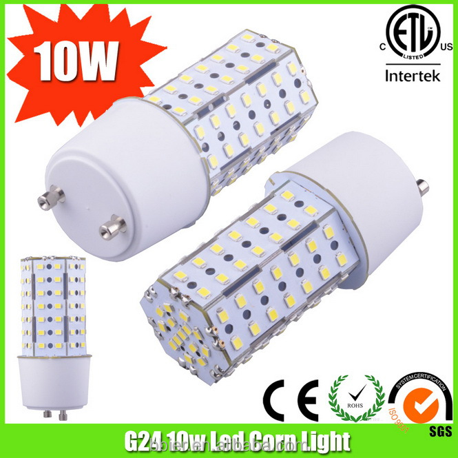 Bbier 2014 New Led Light Aluminum Gu24 10w Marine Lamp Bulbs