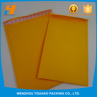 Wholesale Bubble Cushioned Kraft Mailing Bags With Tear Strip