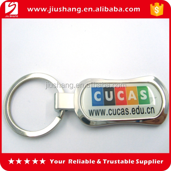 Cheap wholesale high quality custom printed cool keyrings
