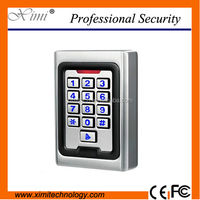 M02 metal case 2000 users standalone 125KHZ ID card 13.56Mhz IC card access control single door access control with night light