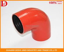 High performance car parts 90 degree elbow silicone rubber hose