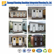 Prefab street kiosk booth sentry box /outdoor prefab house