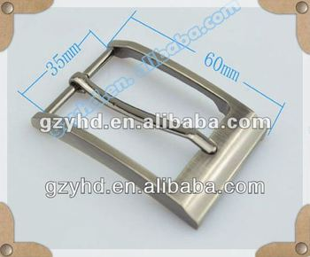 2013 popular belt fastener pin buckle for men