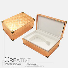 Wholesale Custom PU Leather Wine Packaging Box