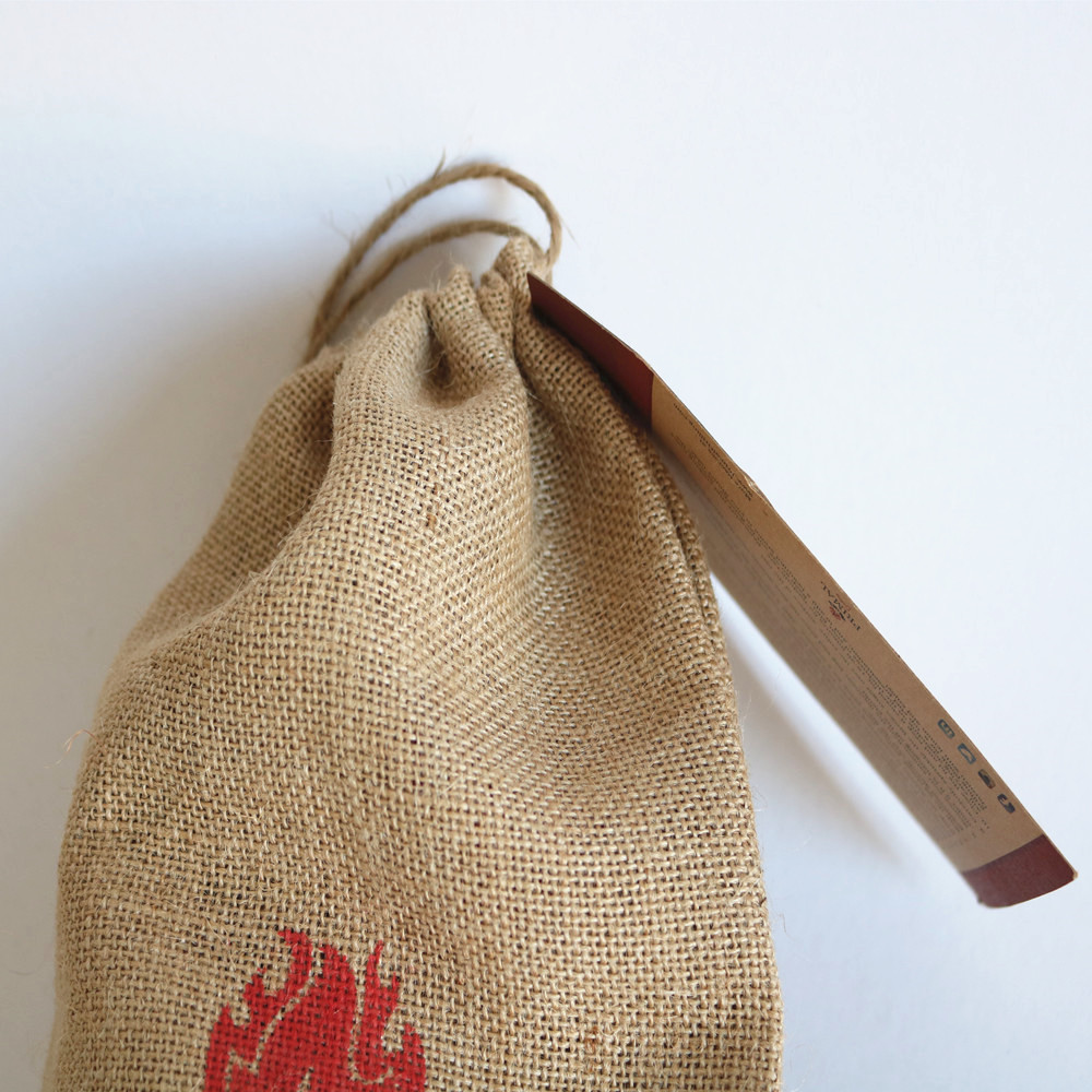 ecofriendly jute bag cocoa beans