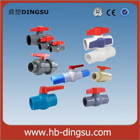 upvc material environment friendy ppr pipe fittings china supplier high quality plastic ppr ball valve