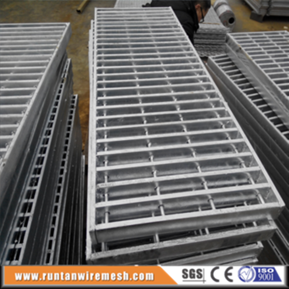 Steel grate drain grating cover galvanized traffic trench grates