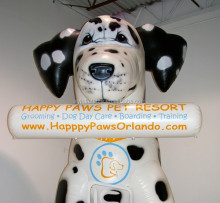 giant inflatable dalmatians for advertising