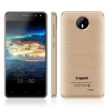 Cagabi One - Very Small Size 5inch Mobile Phone 2G+16G, 5MP+13MP Double Flash, Dual SIM OEM Ultra Slim Android 6.0 Smart Phone