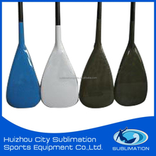 Durable and Economy Plastic Paddle with Colorful ABS edge, Adjustable Dragon Boat Paddle , Fiberglass Carbon SUP Paddle
