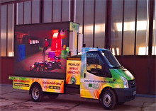 LED truck display /mobile LED trailer screen /led advertising trailer display