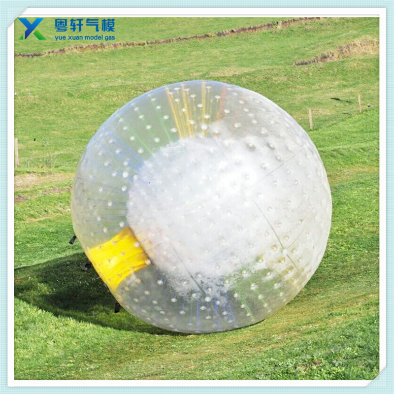 Inflatable zorb ball soccer /grass walking ball /inflatable zorb ball for adults
