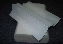 Pure Wood Pulp White Z Fold Paper hand towel