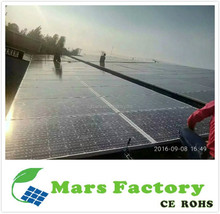 Manufacturer in Dongguan 300W 500W 1KW led solar home lighting system / 2KW solar power system