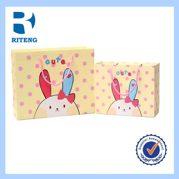 Cute handmade paper bag design for kids Min. Order: 1000 Pieces