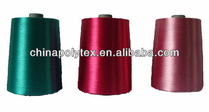 dyed viscose rayon filament yarn 300d