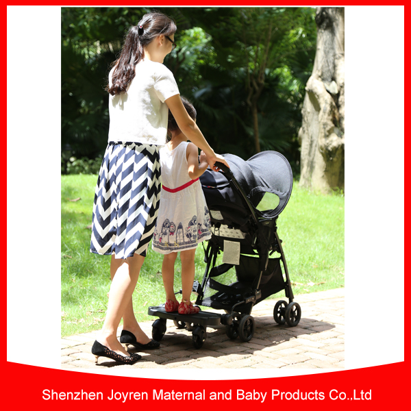 Universal baby stroller buggy board